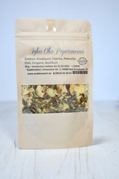 Aglio-Olio-Peperoncino-Gewürzmischung