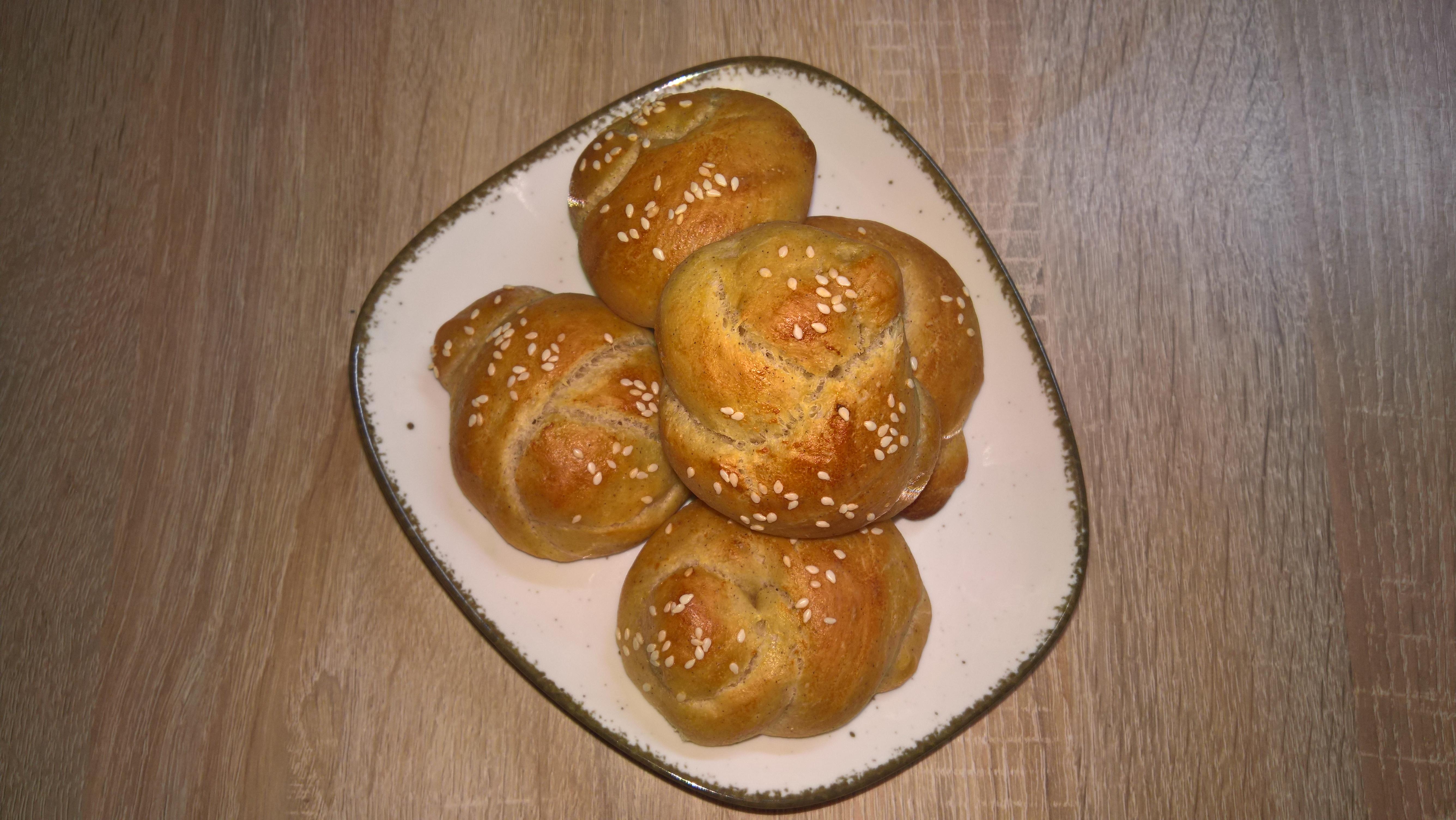 Süßes Hefegebäck Aus Dinkel Süße Acma Brötchen Rezept Blog