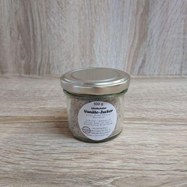 Vanille-Zucker im Glas