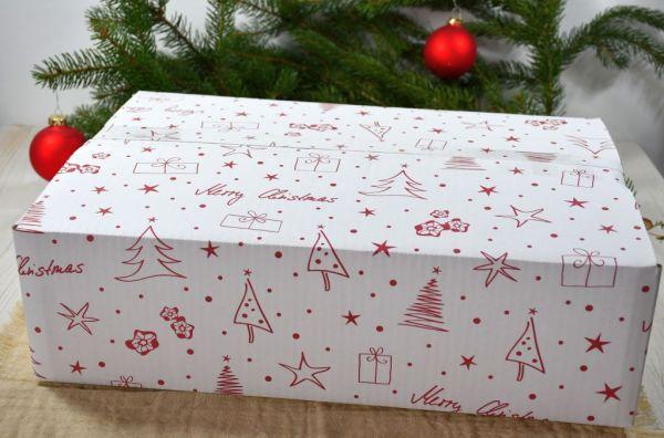Christmas / Weihnachts- Versandkarton