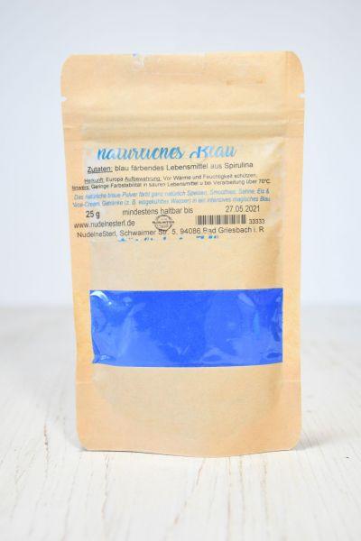 natürliches Blau (Spirulina)